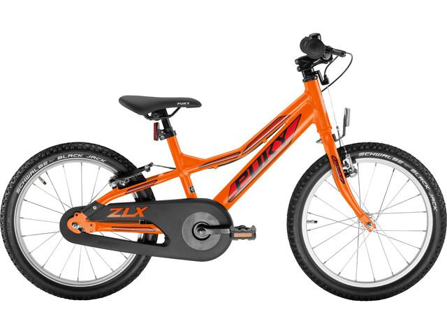 puky zlx 18 1 alu f fahrrad 18 kinder racing orange online. Black Bedroom Furniture Sets. Home Design Ideas